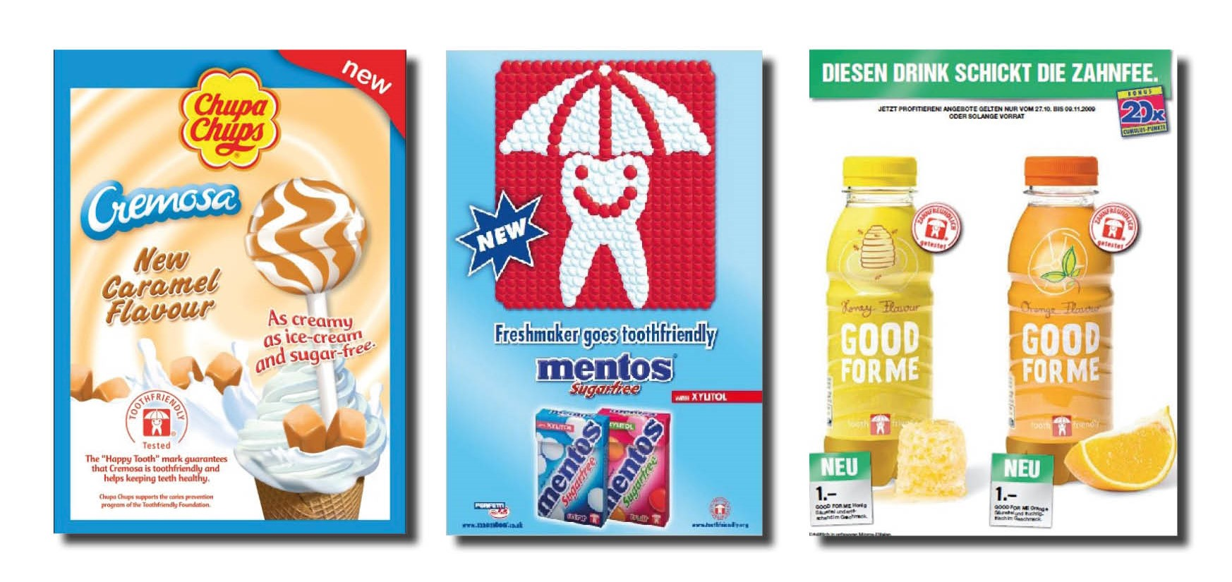 Advertisement samples Toothfriendly