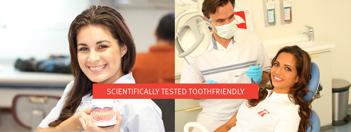 scientifically tested toothfreindly