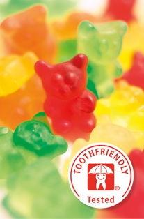 Gummy bear toothfriendly web